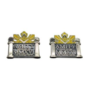 Wholesale Custom Masonic Lapel Pins with High Quality
