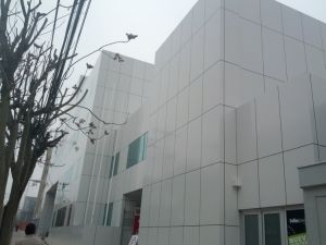 Aluminum Composite Panel Projects Abroad pictures & photos