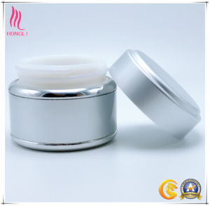 PP White Cosmetics Glass Jars pictures & photos