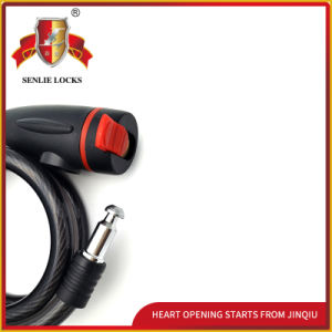 Jq8207-Q Reasonable Price Spiral Cable Lock Bicycle Lock with Bracket pictures & photos