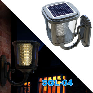 Solar Garden LED Wall Light with Ce FCC Certification pictures & photos