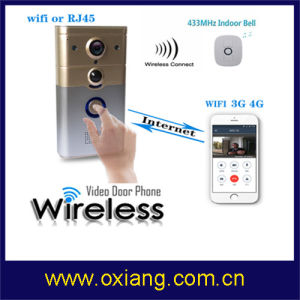 House Security WiFi Video Door Phone Video Doorbell with 2 Way Intercom pictures & photos