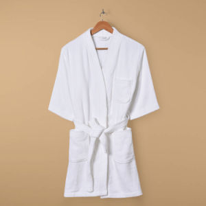 Hotel Cutting Velvet Bathrobe / Pajama / Nightwear pictures & photos