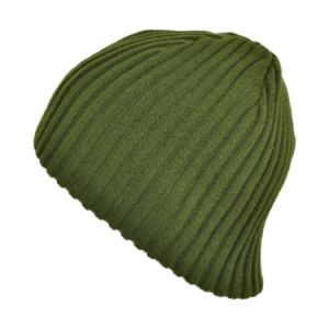Green Cable Knit Beanie pictures & photos