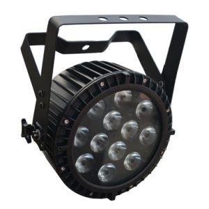 12X12W 6 in 1 Hexa Color Disco Stage LED PAR Light with Powercon pictures & photos