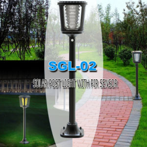 High Quality All in One LED Lawn Solar Lamp for Outdoor pictures & photos