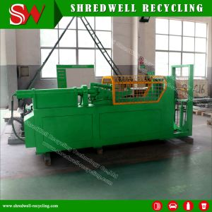 Shredwell Used Tire Debeader for Waste/Scrap Tyre for Sale pictures & photos
