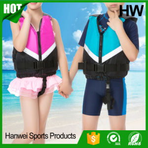 Children Zipper Swimming Fishing Sport Lifejacket (HW-LJ032) pictures & photos