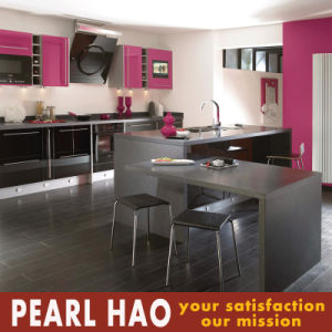 Modern MDF High Gloss Lacquer Kitchen Cabinet Furniture pictures & photos