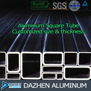 Aluminium Extrusion Profile Round Square Tube Customized pictures & photos