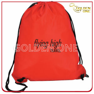 Fancy Design Advertising Polyester Drawstring Bag pictures & photos