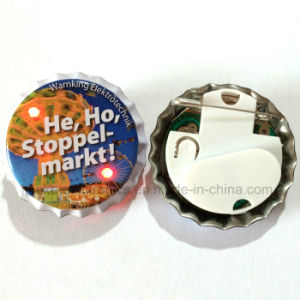 2016 Promotion Gifts LED Flashing Badges with Logo Printed (3569) pictures & photos