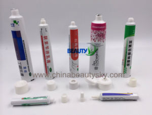Pharmaceutical Packaging Cosmetic Ointment Body Care Collapsible Aluminum Plastic Tube pictures & photos