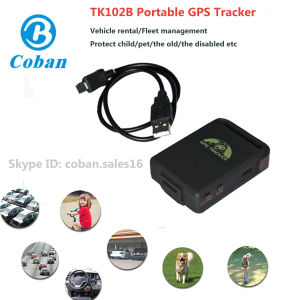 Mini Portable GPS Tracker Tk102b Car Personal Tracker GPS with SIM Card pictures & photos