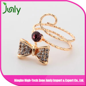 Fashion Big Bijouterie Gold Finger Ring Ladies Rings pictures & photos