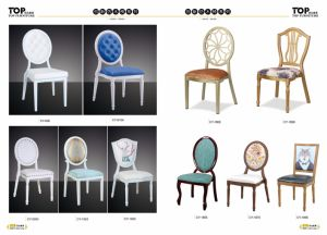 Hotel Classy Aluminum Wedding Banquet Dining Chairs pictures & photos