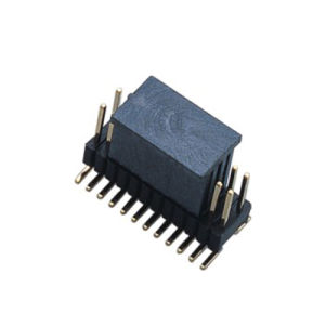 1.27*2.54mm Single Row 180 ° SMT Pin Header pictures & photos