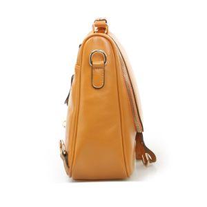 Women PU School Bag Fashion Satchel Shoulder Bag Messenger Backpack pictures & photos