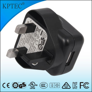 3pin Plug Charger with 5V 1A for Mobile Phone pictures & photos