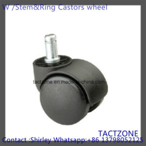Wholesale Modern Hot Without Brake Locking Nylon Small Caster Wheels pictures & photos