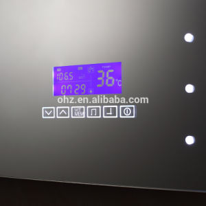 Bathroom Stainless Steel Smart LED Mirror with Bluetooth Radio and Clock pictures & photos