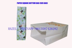 Square Bottom Sos Paper Bag Making Machine SBR Serial pictures & photos
