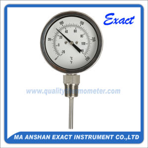 All Stainless Steel Thermometer - Bottom Bimetal Thermometer - Industrial Thermometer pictures & photos