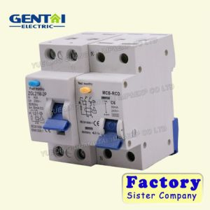 RCBO Residual Current Circuit Breaker with Overcurrent Protection (Electro magnetic) pictures & photos
