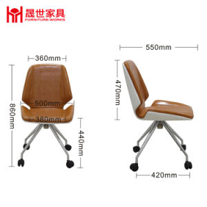 Stable and Durable Imported High-Quality Leather Chair pictures & photos