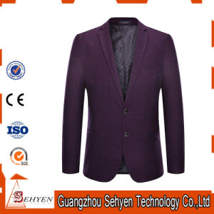 Top Brand Latest Design Men Wool Fitted Business Suits Jacket pictures & photos