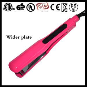 Professional Salon Wider Hair Straightener (V183) pictures & photos