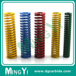 Precision Mould Heavy Load Spring with Green Color pictures & photos
