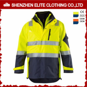 2017 Winter Hi Vis Safety Reflective Work Jacket pictures & photos