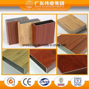 Wood Grain Aluminium Extrusion for Window and Door pictures & photos