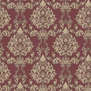 Interior Damask Design Flower PVC Vinyl Wallpaper Wholesale pictures & photos