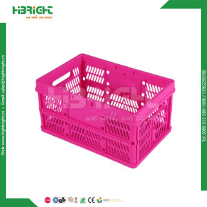 Stackable Plastic Folding Crate pictures & photos