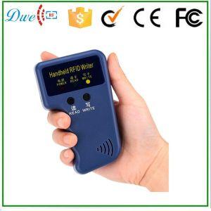 RFID Handheld 125kHz T5577 Card Copier Writer Duplicator pictures & photos