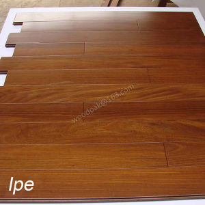 Ipe Solid Hardwood Flooring with Light Color Wood Flooring pictures & photos