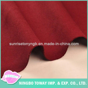 Garment Fabric Double Faced Smooth Thick Heavy Woolen Cloth pictures & photos