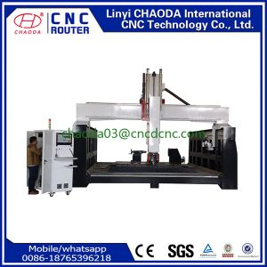 Stone Engraving Machine with High Z Axis for Big Statue pictures & photos