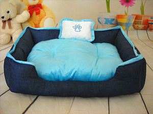 Denim Fabric Dog Bed & Pet Bed pictures & photos