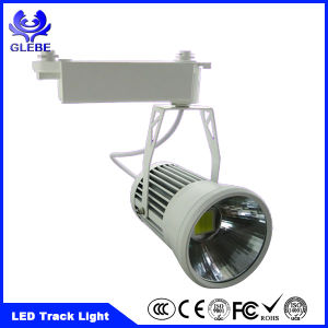 New design Lighting Track Energy Saving 80% 3-30W LED Track Spot Light pictures & photos