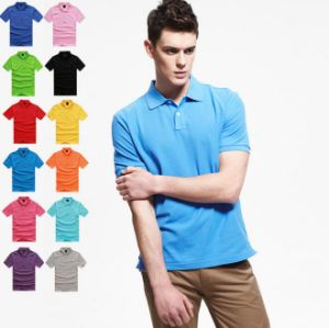 Cotton Polo Shirt Factory /100% Cotton Pique Polo Shirt pictures & photos