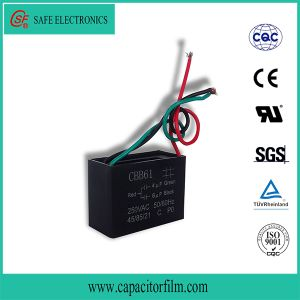 High Quality AC Motor Cbb61 Capacitor pictures & photos