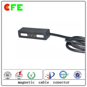 3pin Electronic Magnetic Cable Connector for Charging Supplier pictures & photos