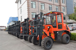 off Road Forklift 3.0ton 3.0m Xdyc30 pictures & photos