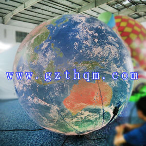 Helium Advertising Giant Inflatable Moon Balloon/PVC Helium Balloon pictures & photos