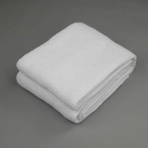 100% Soft Cotton Waffle Blanket pictures & photos