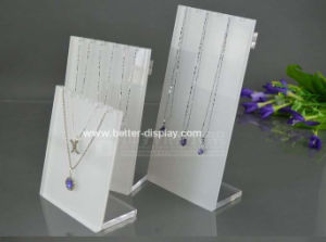 Custom White Jewelry Display Neck Stands Btr-A2080 pictures & photos