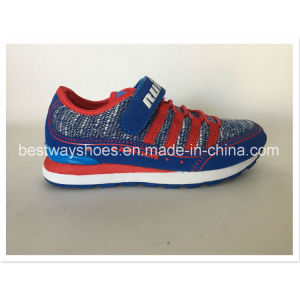 Fashion Mesh Fabric Shoes Kids Shoes Sports Shoes for Chirldren pictures & photos